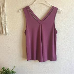 American Eagle Soft and Sexy Sueded Strappy Tank